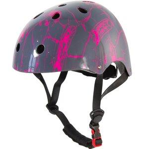 Kask rowerowy BEST SPORTING 302092 Różowo-szary (rozmiar L)