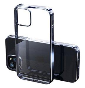 Etui ROCK Hybrid do iPhone 12/12 Pro Niebieski