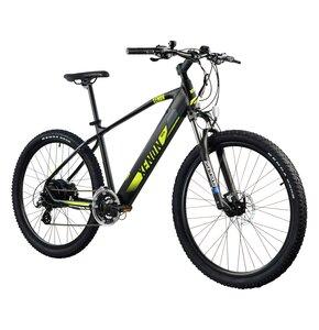 Rower elektryczny TORPADO Xenon M18 27.5 cala męski Czarno-żółty