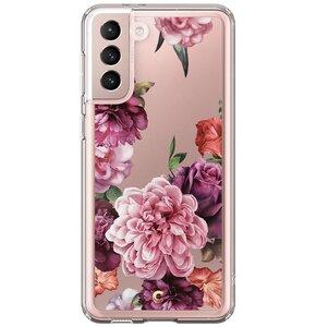Etui SPIGEN Cyril Cecile do Samsung Galaxy S21 Rose Floral