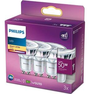 Żarówka LED PHILIPS 929001215256 4.6W GU10 (3 szt.)