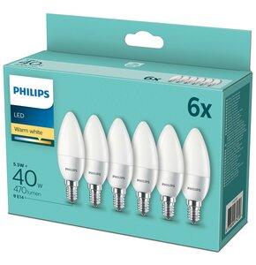 Żarówka LED PHILIPS 929001253664 5.5W E14 (6 szt.)
