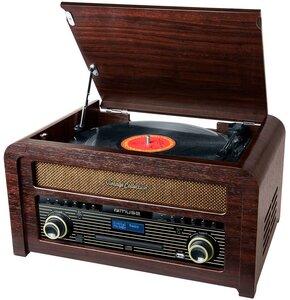 Gramofon MUSE MT-115 DAB Drewno