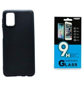 Etui BELINE do Samsung Galaxy M31s Czarny + Szkło hartowane