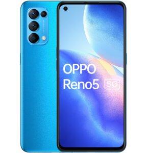 "Smartfon OPPO Reno 5 8/128GB 5G 6.43"" 90Hz Niebieski CPH2145"