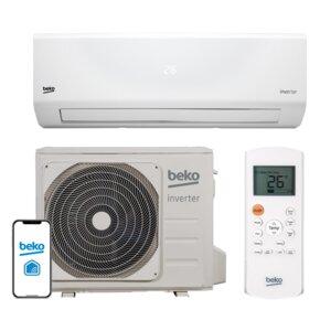 Klimatyzator BEKO Split BEHPI 120/BEHPI 121 z usługą montażu