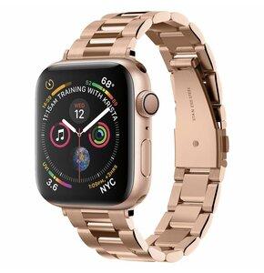 Pasek SPIGEN Modern Fit Band do Apple Watch 2/3/4/5/6/SE (38/40mm) Różowo-złoty