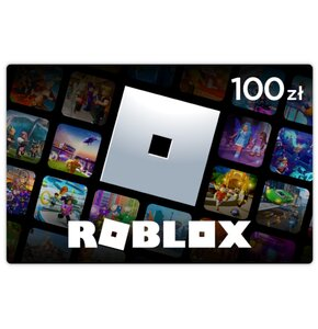 Karta podarunkowa Roblox 100 zł