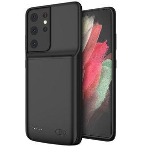 Etui TECH-PROTECT PowerCase do Samsung Galaxy S21 Ultra Czarny