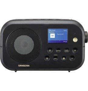 Radio SANGEAN DPR-42BT Czarny