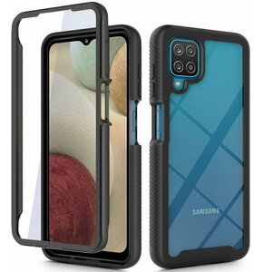 Etui TECH-PROTECT Defense 360 do Samsung Galaxy M12 Czarny