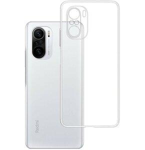 Etui 3MK Clear Case do Xiaomi Redmi K40 5G Przezroczysty