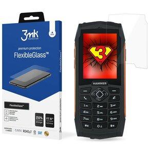 Szkło hybrydowe 3MK FlexibleGlass do MyPhone Hammer 3/3+