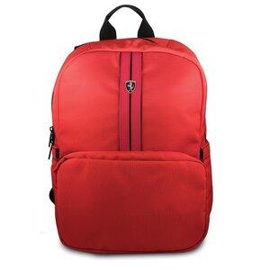 Plecak na laptopa FERRARI Urban Collection 15.6 cali Czerwony