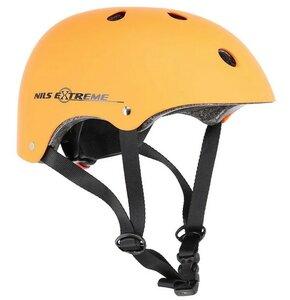 Kask rowerowy NILS EXTREME MTV12 Pomarańczowy Miejski (rozmiar L)