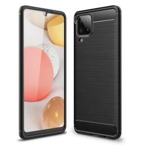 Etui TECH-PROTECT TPUCarbon do Samsung Galaxy M12 Czarny