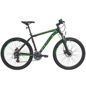 Rower górski MTB INDIANA X-Pulser 2.6 M18 26 cali męski Czarno-zielony