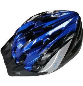 Kask rowerowy SPARTAN 30704 Niebiesko-czarny MTB (rozmiar S)