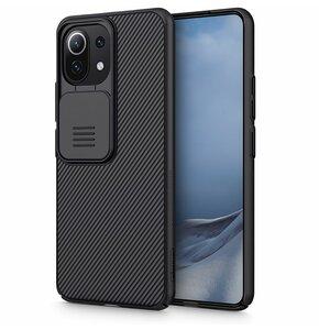 Etui NILLKIN Camshield do Xiaomi MI 11 Lite/Mi 11 Lite 5G Czarny
