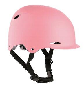 Kask rowerowy NILS EXTREME MTW02 Różowy dla Dzieci (rozmiar S)