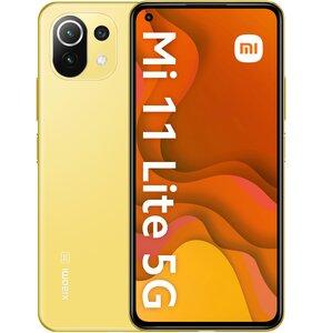 """Smartfon XIAOMI Mi 11 Lite 8/128GB 5G 6.55"""" 90Hz Żółty 32418"""