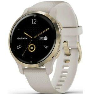 Zegarek sportowy GARMIN Venu 2S Beżowy + Champagne