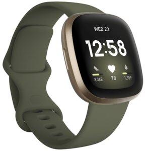 Smartwatch FITBIT Versa 3 Oliwkowy