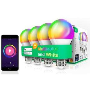 Inteligentna żarówka LED NOUS P3 9W E27 WiFi (4 szt.)