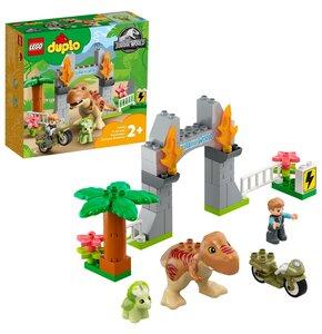 LEGO Duplo Ucieczka tyranozaura i triceratopsa 10939