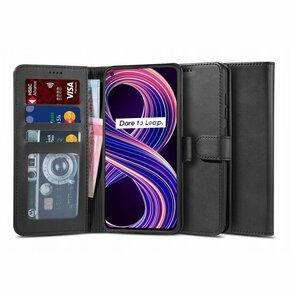 Etui TECH-PROTECT Wallet 2 do Realme 8 5G Czarny