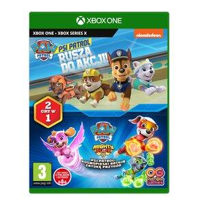 Psi Patrol: Rusza do akcji + Kosmopieski ratują Zatokę Przygód Gra XBOX ONE (Kompatybilna z XBOX SERIES X)