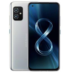 Smartfon ASUS Zenfone 8 8/128GB 5G 5.92″ 120Hz Srebrny ZS590KS-8J008EU
