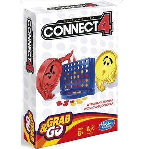 Gra zręcznościowa HASBRO Connect 4 Grab and Go Wersja podróżna