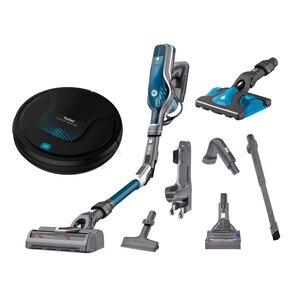 Odkurzacz TEFAL Air Force Flex Ultimate TY9571 Aqua + Robot sprzątający TEFAL Xplorer RG6875