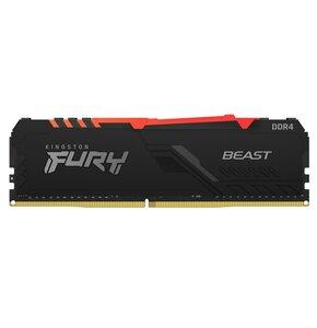 Pamięć RAM KINGSTON FURY Beast RGB 16GB 3000MHz