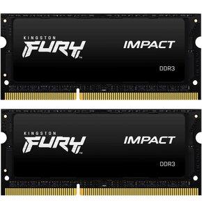 Pamięć RAM KINGSTON Fury Impact 16GB 1600MHz