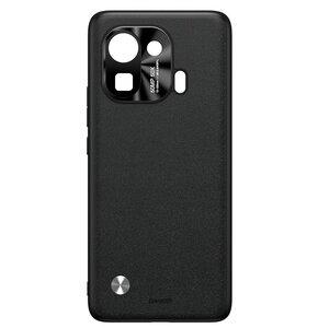 Etui BASEUS Alloy Leather do Xiaomi Mi 11 Pro Czarny