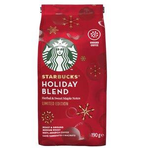 Kawa mielona STARBUCKS Holiday Blend Arabica 0.19 kg