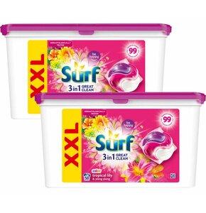 Kapsułki do prania SURF Tropical Lily 100 szt.