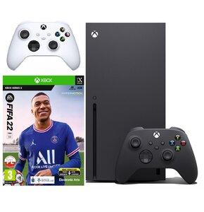 Konsola MICROSOFT XBOX Series X + Kontroler Biały + FIFA 22