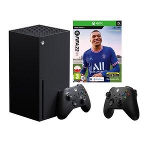 Konsola MICROSOFT XBOX Series X + Kontroler Czarny + FIFA 22