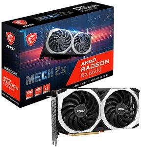 Karta graficzna MSI Radeon RX 6600 Mech 2X 8GB