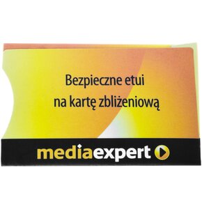 Etui ochronne SEDONA do karty płatniczej Mediaexpert