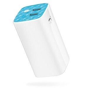 Powerbank TP-LINK TL-PB 10400 mAh Biało-niebieski