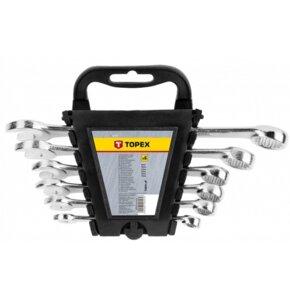 Klucze płasko-oczkowe TOPEX 35D397 (6 elementów)