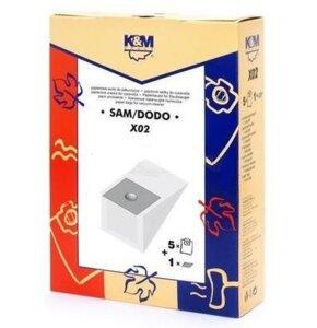 Worek do odkurzacza K&M X02 (5 sztuk)