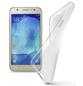 Etui CELLULAR LINE Shape do Samsung Galaxy J7 Przezroczysty