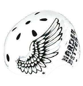 Kask rowerowy SPOKEY Angel Czarno-biały (rozmiar L)