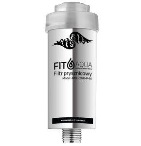 Filtr prysznicowy FITAQUA metalizowany AWF-SWR-P-M