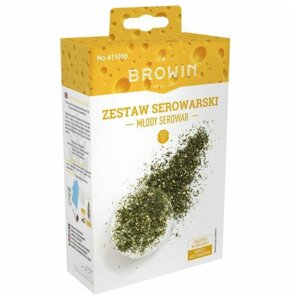 Zestaw serowarski BROWIN Młody serowar 411000